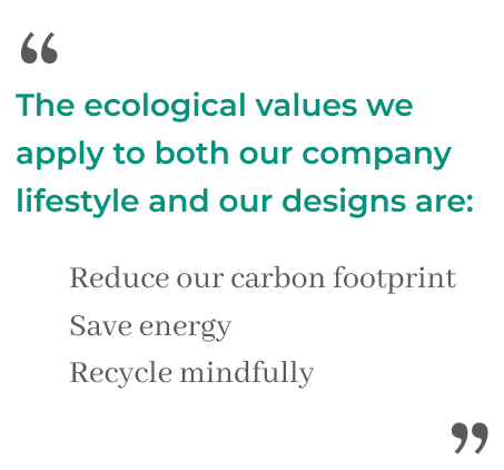 We encourage you to join us on our mission to build a sustainable business.
